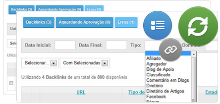 Módulo de Backlinks